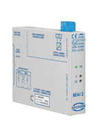 Converter for actuator - BEA/BEAI Series Backplane Mounting Galv